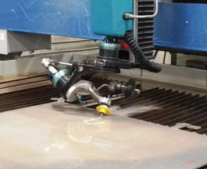 5-Axis Waterjet Cutting