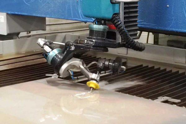 5-Axis Waterjet Cutting