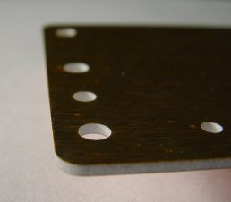 alum lam waterjet cutting