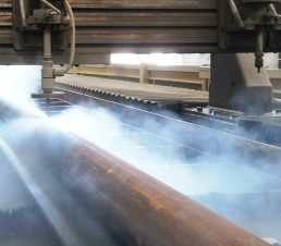waterjet pipe splitting
